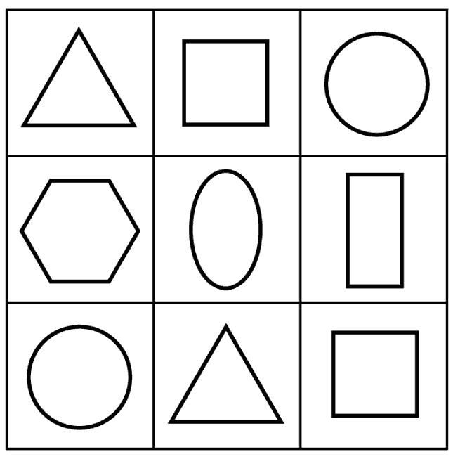 Znalezione obrazy dla zapytania figury geometryczne | Kolorowanki ...