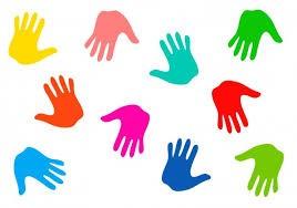 Znalezione obrazy dla zapytania: dłonie grafika