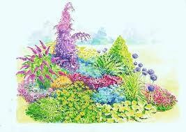 Projekty ogrodów. Propozycje rabat na glebę piaszczystą